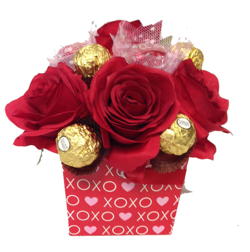 Chocolates & Roses Bouquet