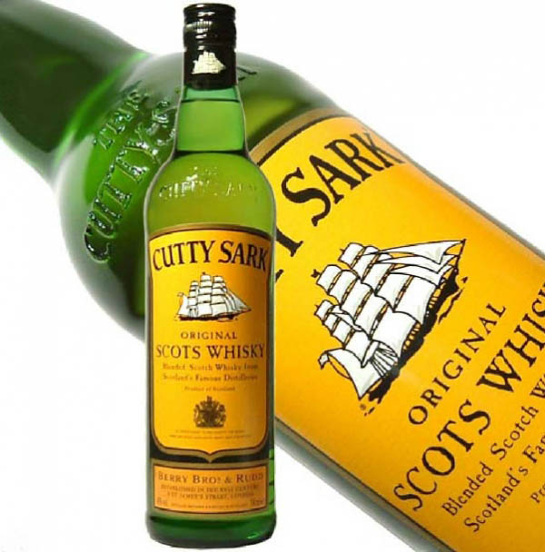Cutty Sark Scotch Whiskey