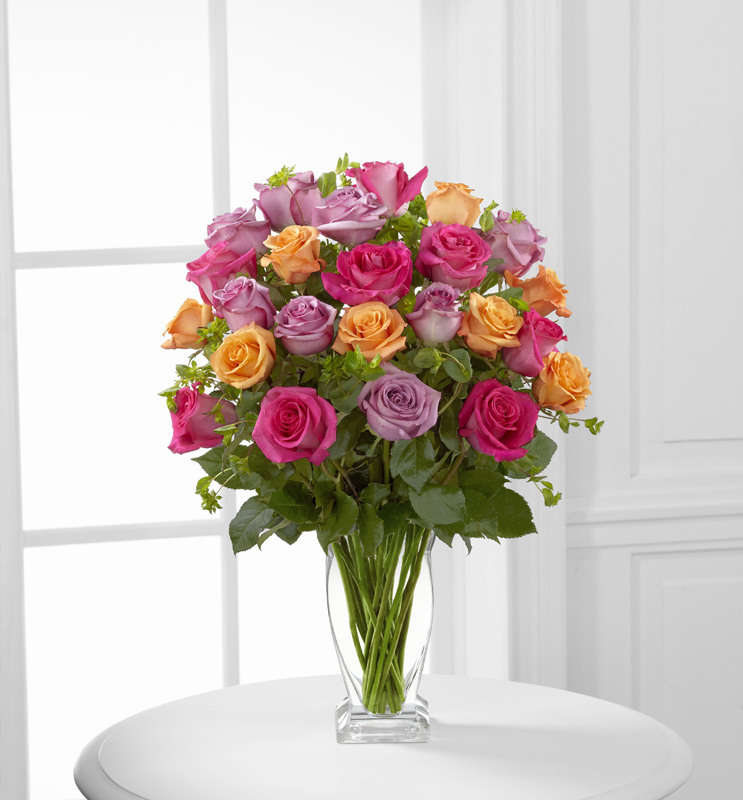 Pure Enchantment Rose Bouquet
