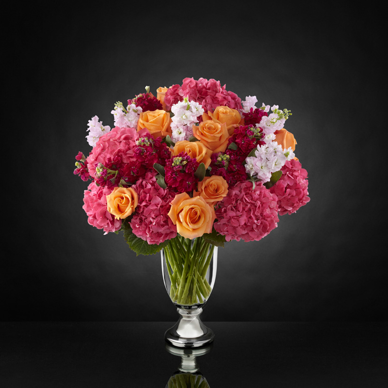 Astonishing Luxury Mixed Bouquet by Vera Wang