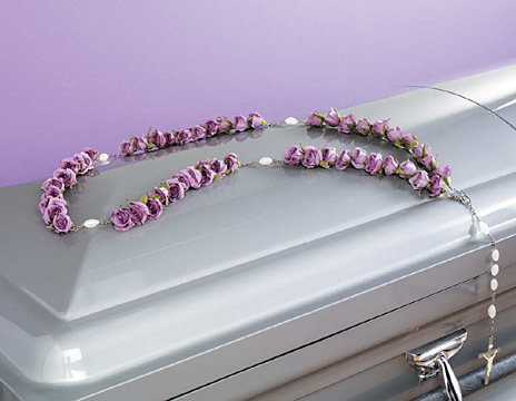 Shelter Casket Adornment