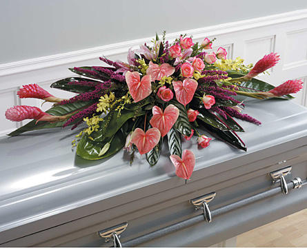 Denouement Casket Spray