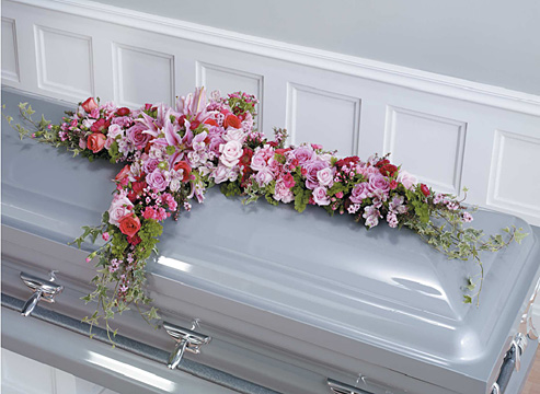 To God's Ears Casket Adornment