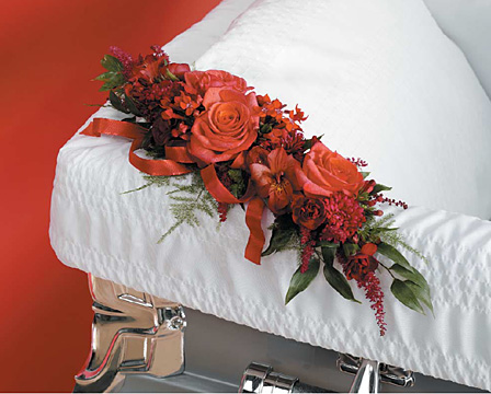 Comfort Casket Adornment