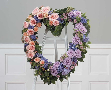 Pure Heart Wreath