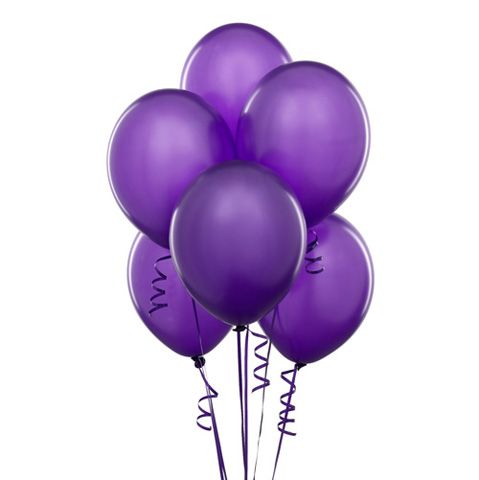 Purple Balloon bouquet