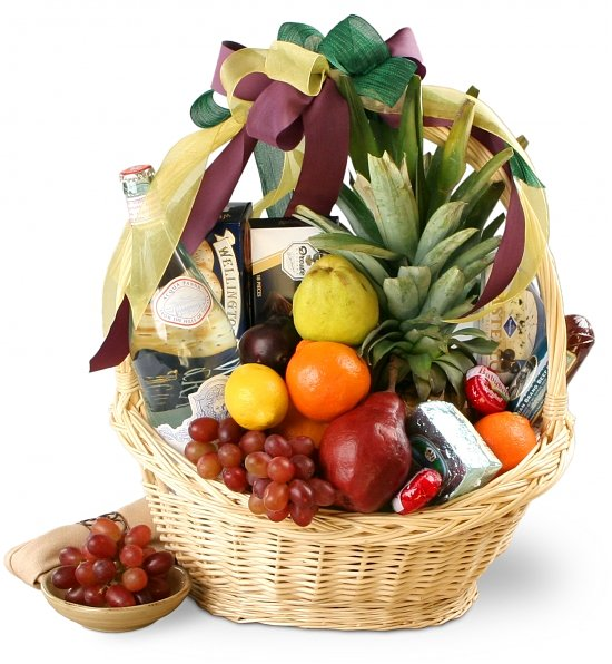 Nature's Decadence Gourmet Basket