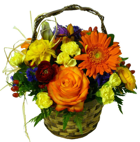 The Autumn Calling Basket