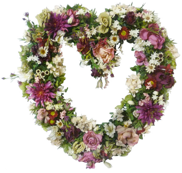 Sofia florist artificial flowers plants flowers delivery sofia pastel silk heart mightylinksfo