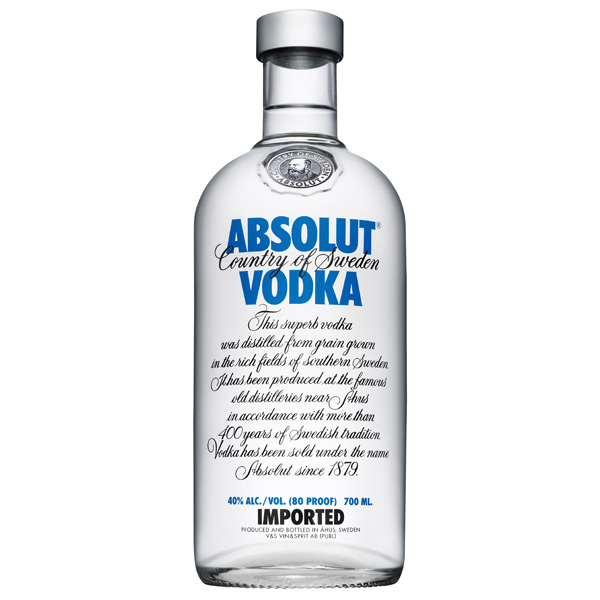 Vodka Absolut 700ml